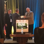 BILL GARRETT HONORED AT PENNSYLVANIA ASPHALT PAVEMENT ASSOCIATION