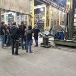 Local Students from Mifflin County Tour Belleville, PA facility