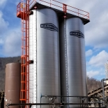 TWO 30,000 GALLON ASPHALT STORAGE TANKS SHIPPED TO WAYNESVILLE, NC
