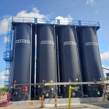 MIDWEST PLANT ADDS 4TH AC TANK TO TANK FARM