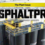 Meeker Featured on the cover of Asphalt Pro Magazine